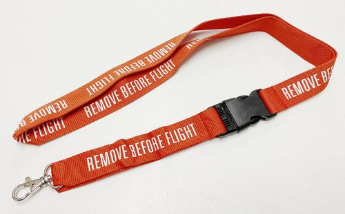 Lanyard/Schlüsselband REMOVE BEFORE FLIGHT
